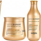 Loreal Professionnel Lipidium Absolut Repair Shampoo/Masque/Serum/Blow Dry Cream