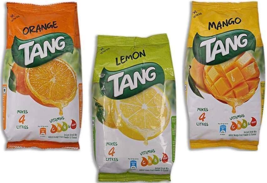 Tang  Instant Drink Mix Powder  500 GM  Orange / Lemon / Mango  ~4 Litre