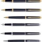 Waterman Paris Hemisphere Matte Black GT  / Matte Black CT Pens Choose from 8
