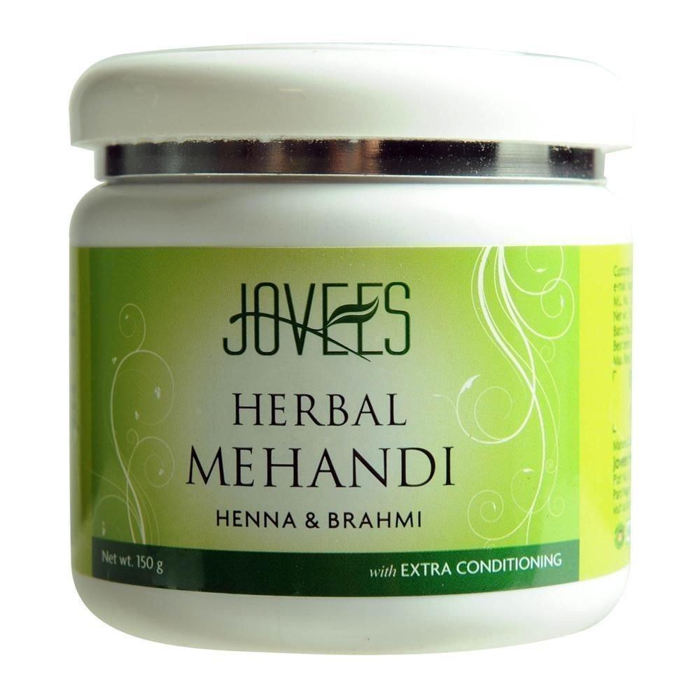 Jovees Henna And Brahmi Herbal Mehendi All Hair Types 75 / 150 GM