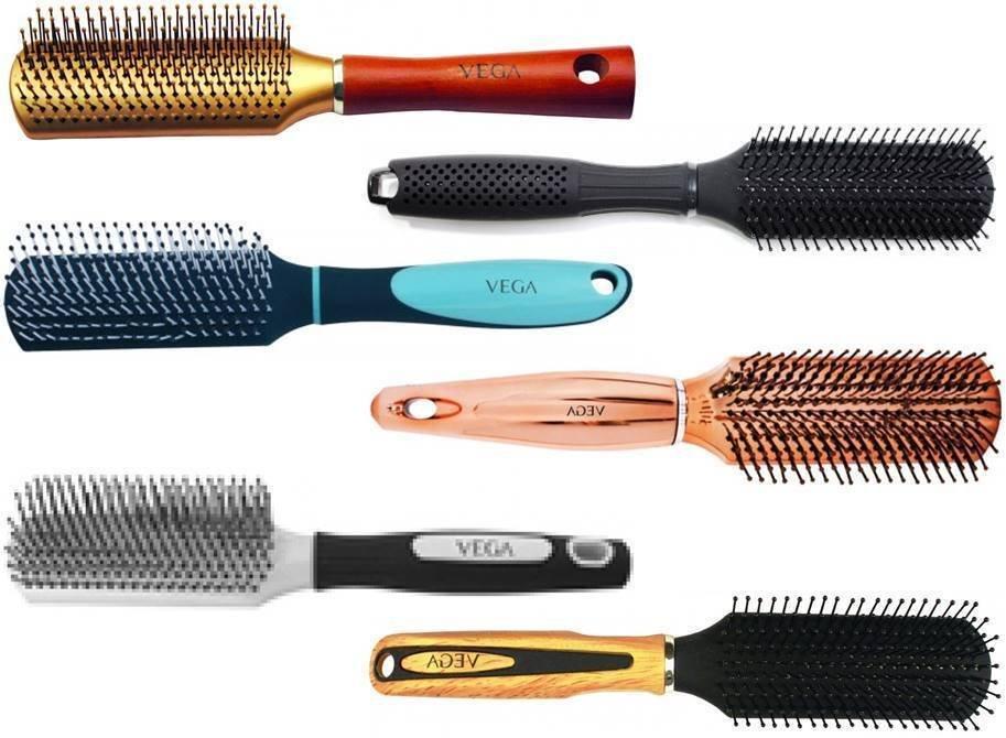 Vega Flat Brush Choose from 6 Variants Hair Care
