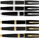 Waterman Paris Charleston Pens Ebony Black GT / Ebony Black CT Choose From 6