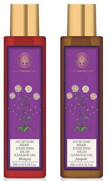 Forest Essential Hair Care Head Massage Oil 2 Variants 200Ml Each