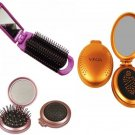 Vega Mirror Hair Brush Choose from 3 Variants Hair Care