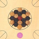 Carrom Coins  Set of 24 Coins + 1 Striker  Indoor Games  Carrom