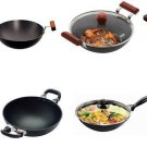 Hawkins Futura Deep-Fry PansHard Anodised & Nonstick Choose From 35