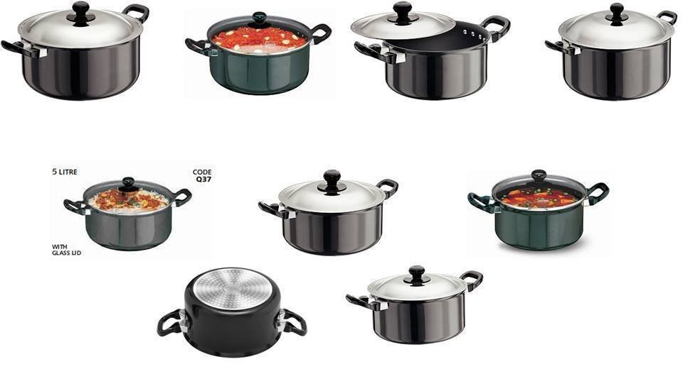 Hawkins Futura Stewpots Hard Anodised & Nonstick Choose From 9