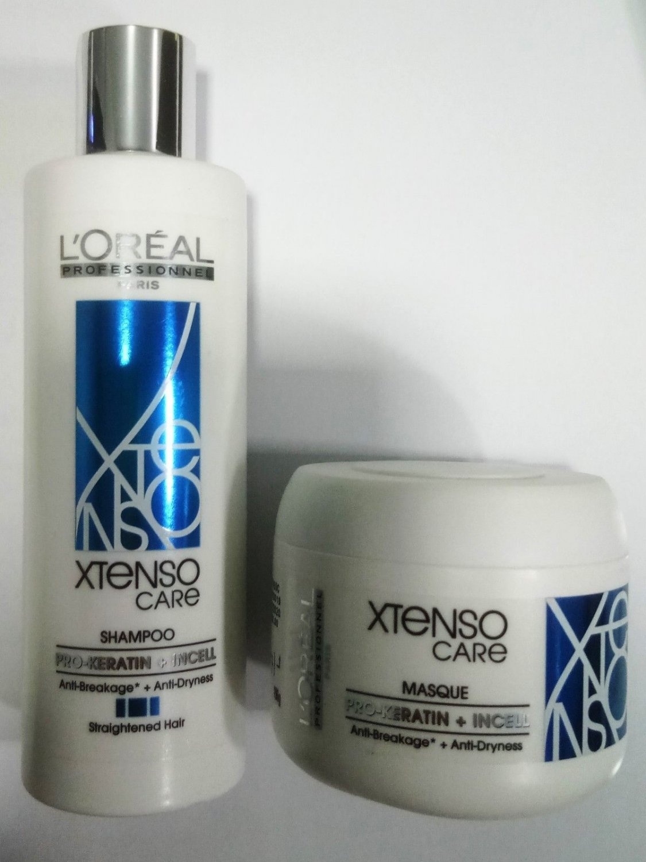 Loreal Professionnel Xtenso Care Straight Shampoo 250 ml + Masque 196 gm