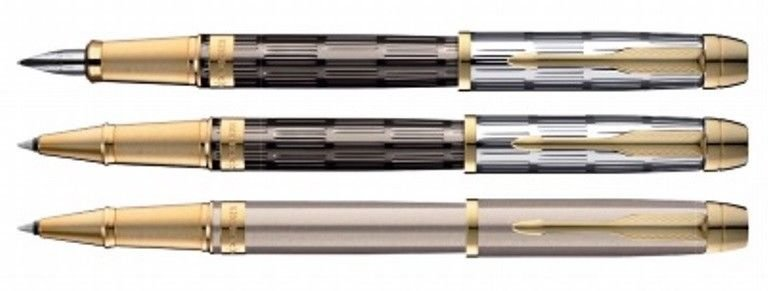 Parker ODYSSEY Gold Trim Fountain & Roller Ball Pen Choose from 3 Variants