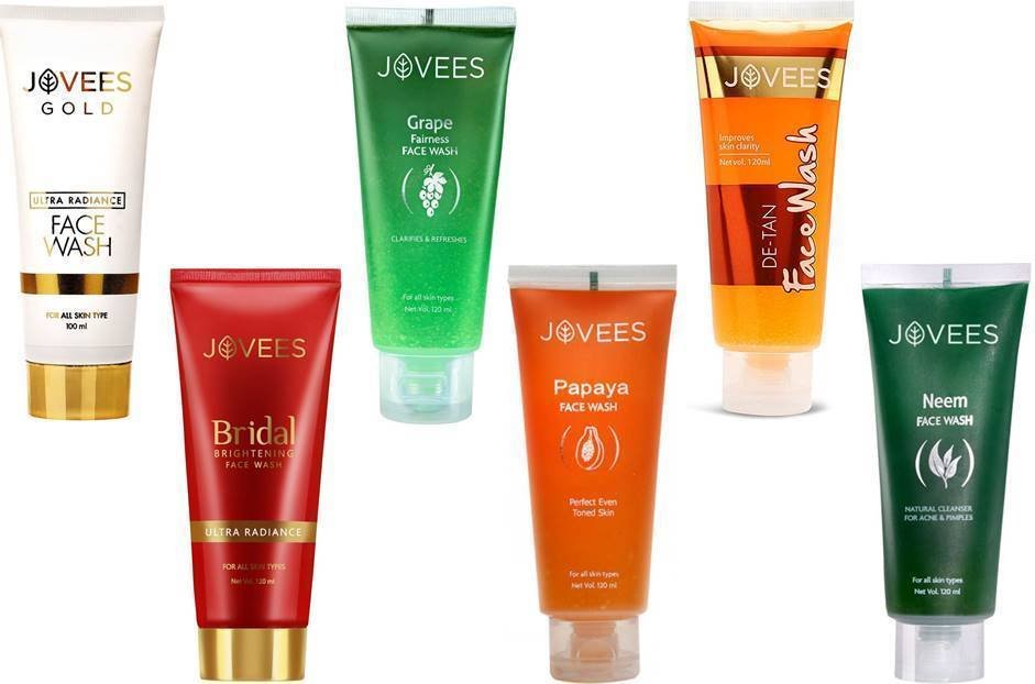 Jovees Face Wash Herbal Deep Cleansing Face Wash Choose From 6