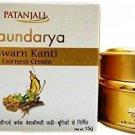 Patanjali  Saundarya Swarn Kanti Fairness Cream 15 Gm Old Pack Mfg04/17 Exp04/19