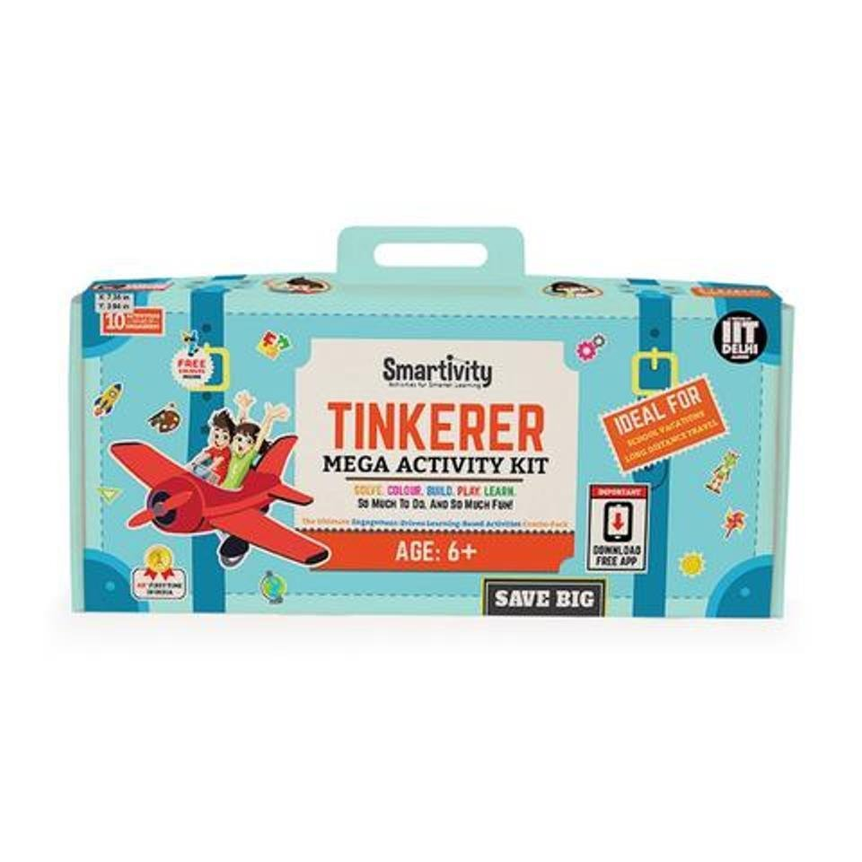 Smartivity Tinkerer (S.T.E.M + AR) Mega- Activity Kit Age 6+ Science Kit DIY