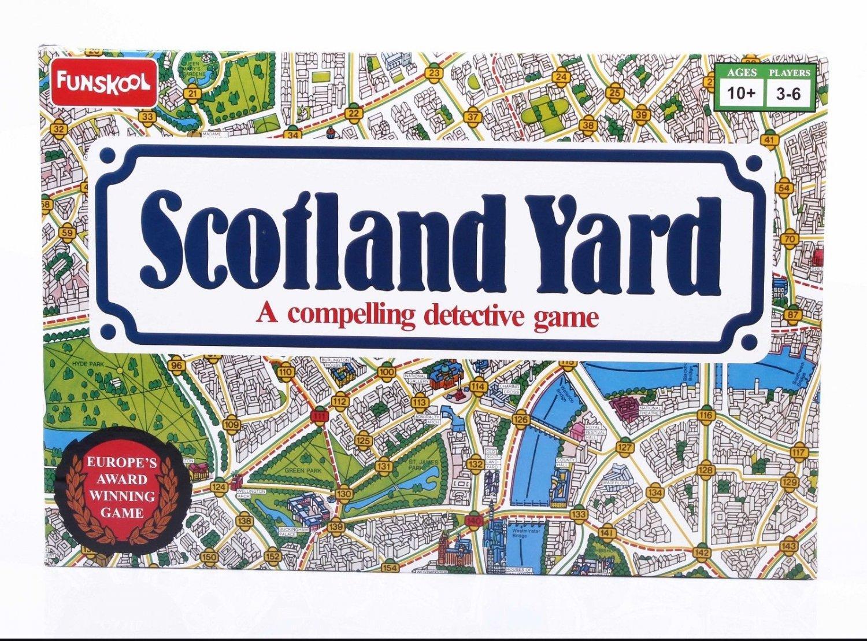 Funskool Scotland Yard Party & Fun Game Players 3-6 Age 10+