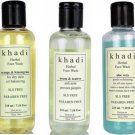 KHADI FACE WASH GEL NATURAL HERBAL FACE WASH SLS AND PARABEN FREE 210 ML CHOOSE