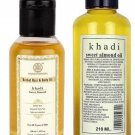 KHADI NATURAL OLIVE OIL HERBAL MASSAGE OIL 100 ML / 210 ML HEAD AND BODY
