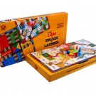 Ludo and Snakes and Ladders Game Medium Age 3+ Toys Box