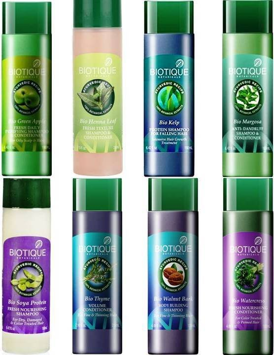 Biotique  Shampoo & Conditioner  Choose from 8 Variants  Hair Care