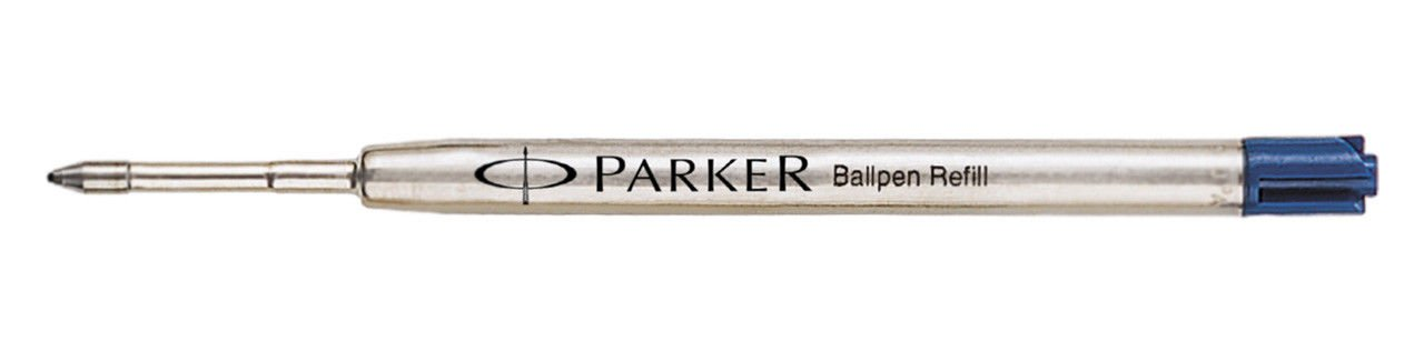 Parker Ball Pen Refill Blue Medium 6 Refill Set