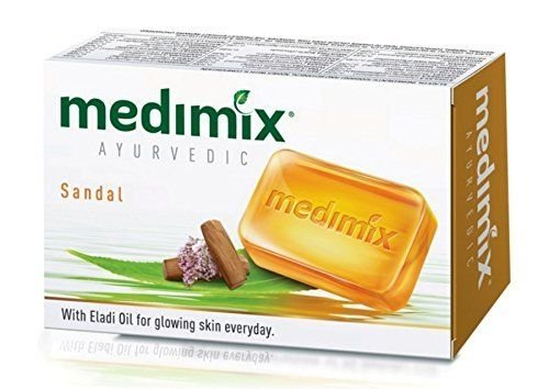 10 Medimix Soap 75gm Real Ayurveda With Sandal & Eladi Oils
