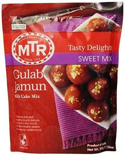MTR  Gulab Jamun Mix  200 Gm  Indian Sweet Mix  Milk Cake Mix
