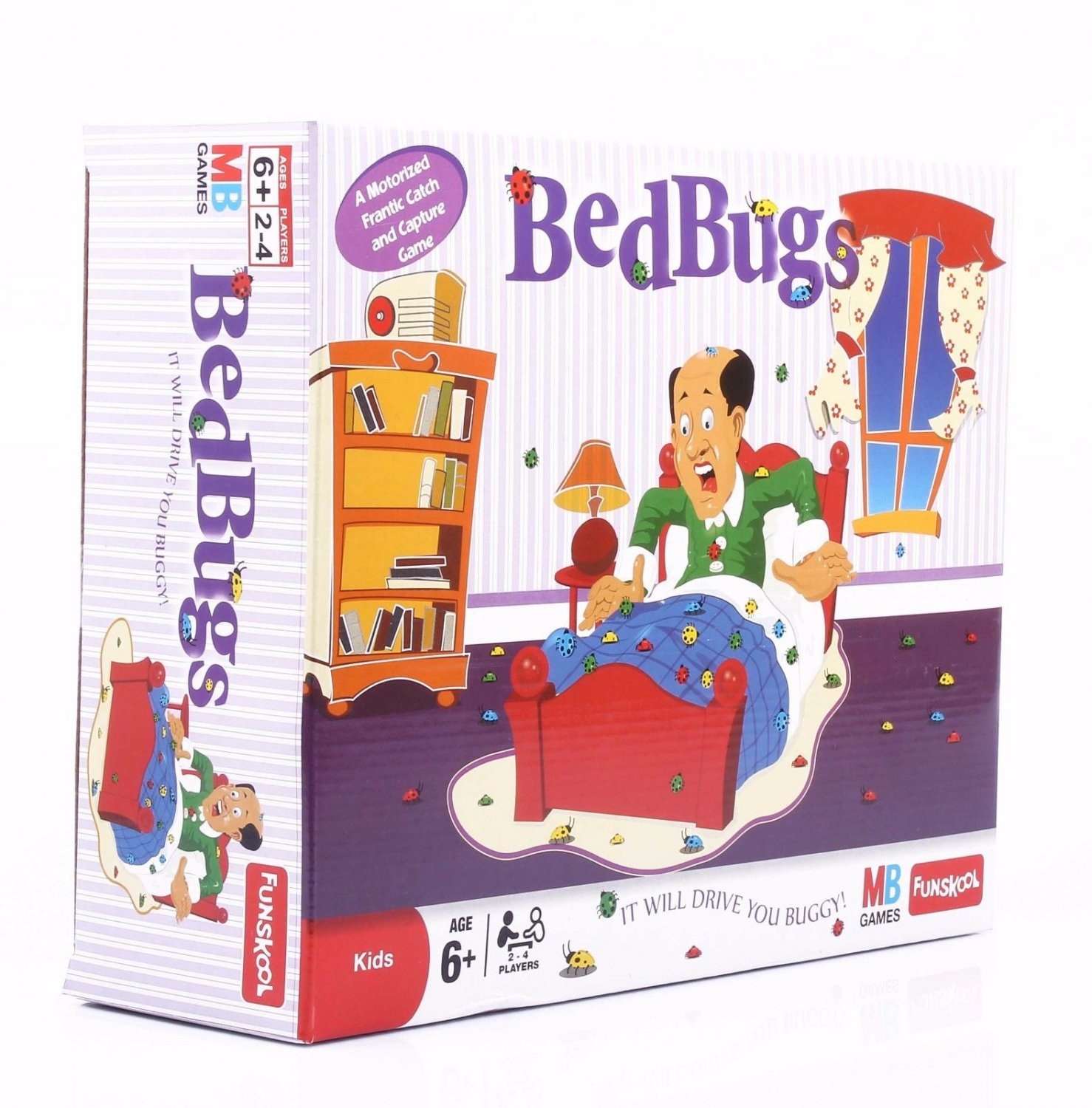Funskool Bed Bugs Action Game Players 2-4 Players Age 6+