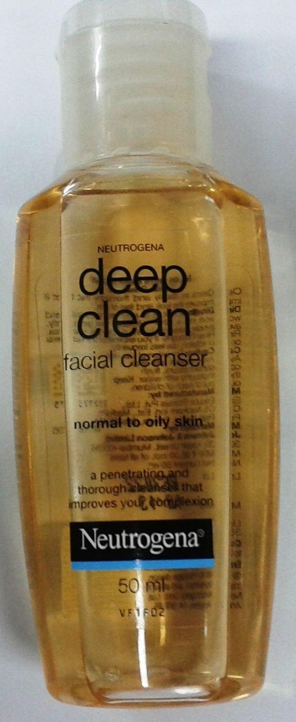 Neutrogena  Deep Clean  50 ML   Facial Cleanser  Face Wash  Skin Care