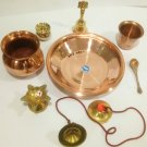 Pooja Metal Apparatus Holy Tradition from India