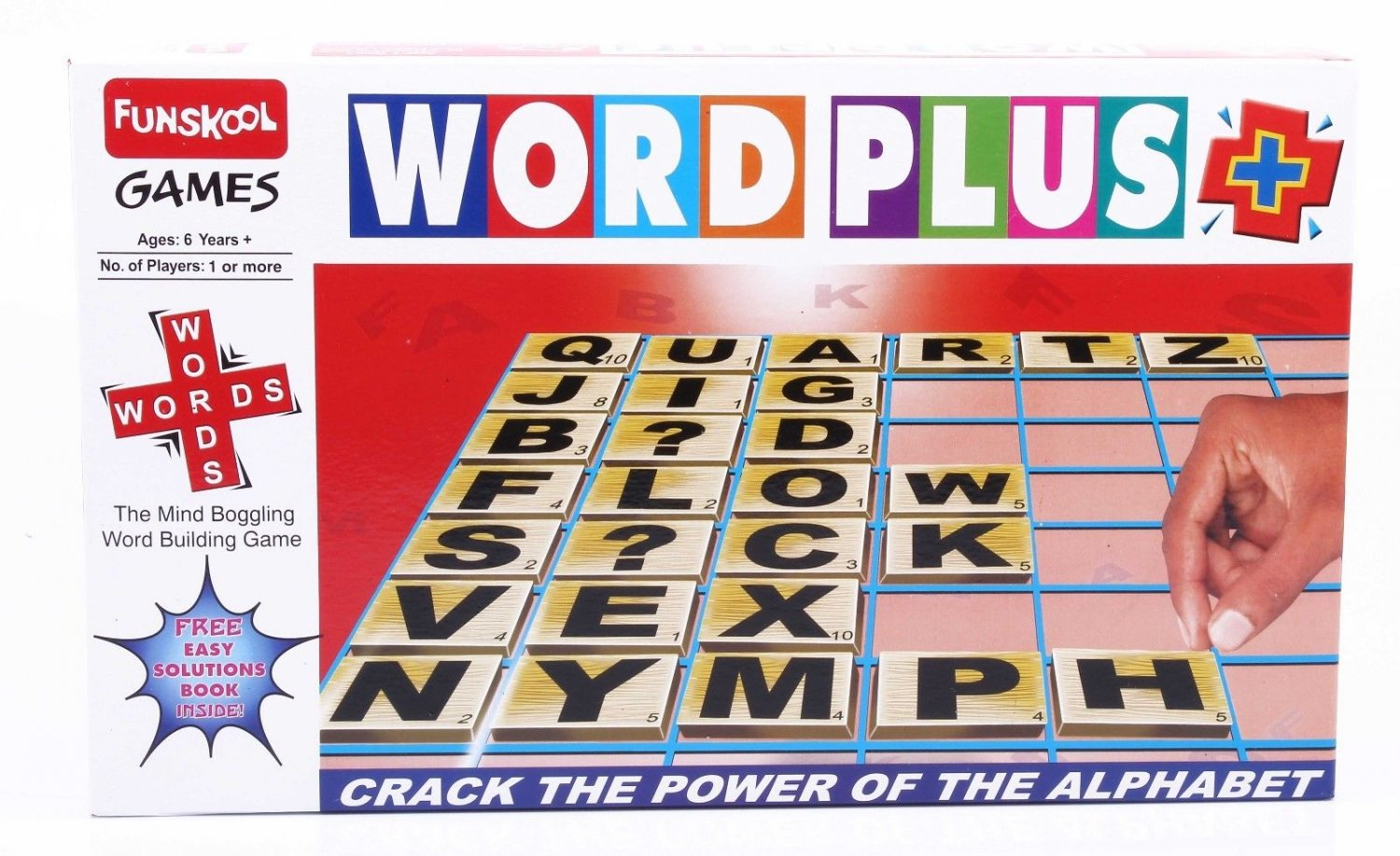 Funskool Word Plus Memory & Matching Game Players 2-4 Age 6+