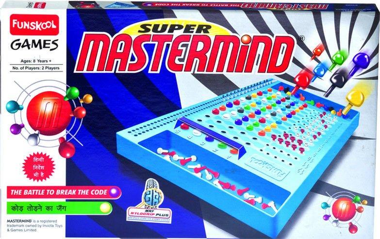 Funskool Super Mastermind Strategy & War Game Players 2 Age 8+