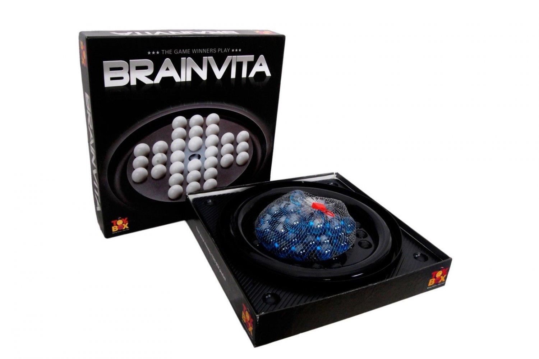 Brainvita Black Game Solo Game Age 5+ Toys Box Indoor