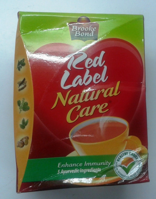 Tea  Indian Tea  250 GM  Brooke Bond Red Label Natural Care  Ayurvedic