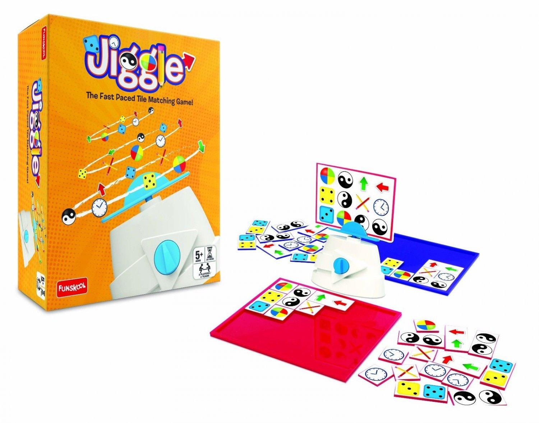 Funskool Jiggle Board Game 2 Players 2 Teams Indoor Game Age 5+