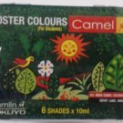 Poster Colors  6 Color Set  Camlin Kokuyo Poster Colors  6 Shades {10ML each}