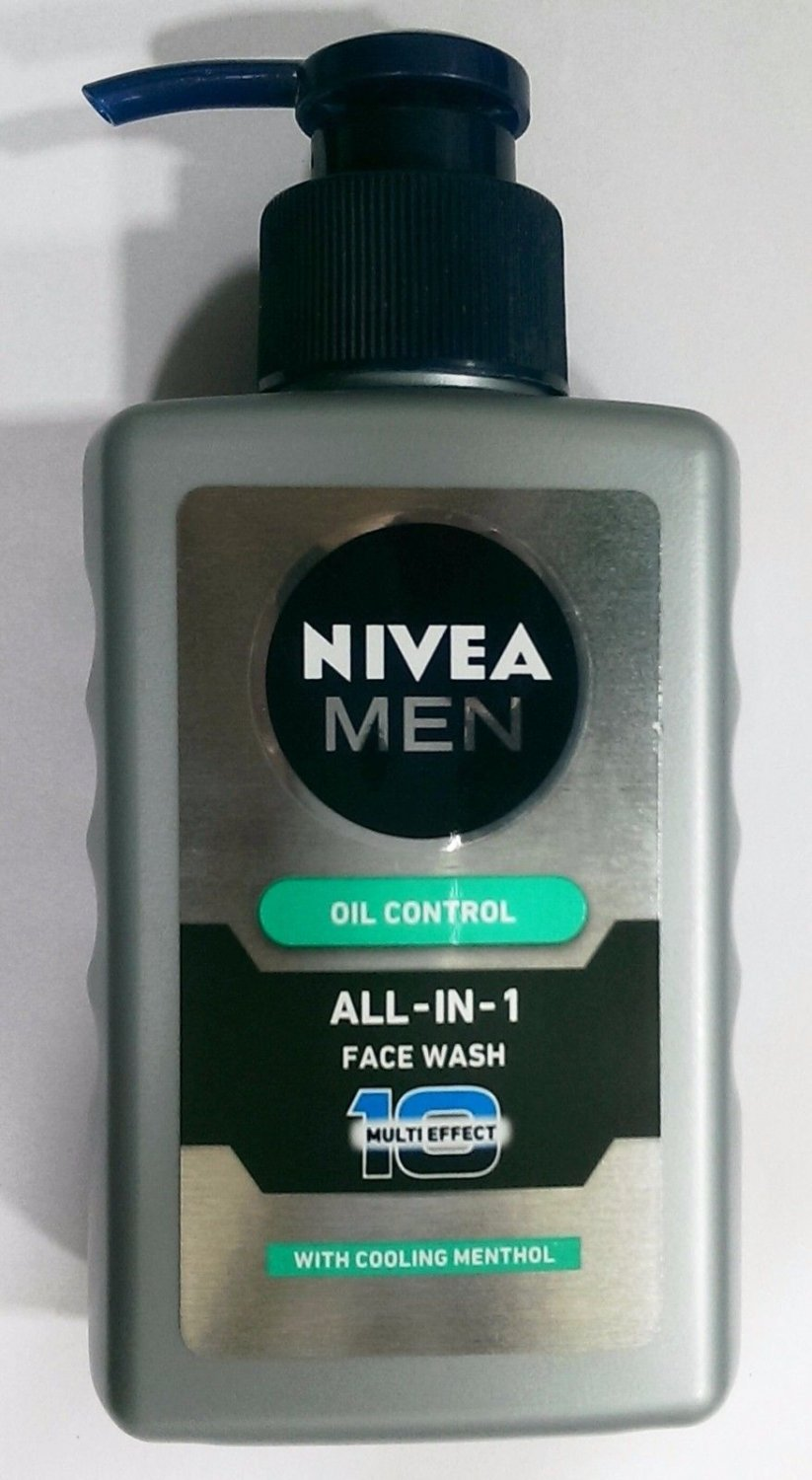 Nivea Men   All in 1 Face Wash   With Cooling Menthol  150ml