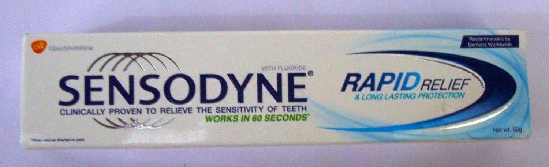 Sensodyne  Rapid Relief  80 GM  Tooth Paste  For Sensitive Teeth