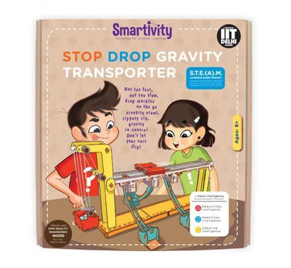 Smartivity Stop Drop Gravity Transporter Age 8+ Science Kit DIY