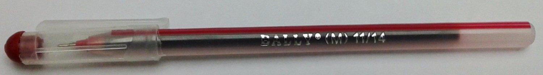 Bally Life Line Ball Pens  Red Ink  Ball Pens  20 Pens
