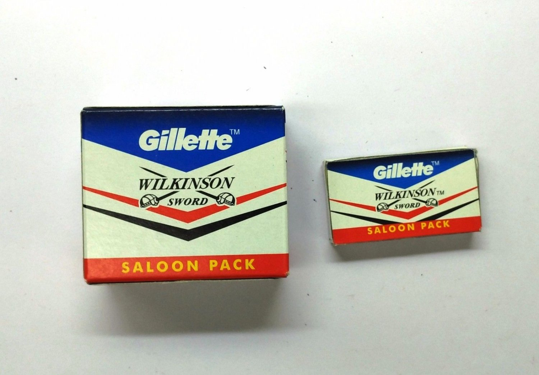 Shaving Razor Blades Gillette Wilkinson Sword  50 Blades