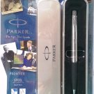 Parker Frontier Steel  Ball Pen  With Stainless Steel Clip