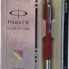 Parker Vector Standard  Ball Pen  Body Color Red