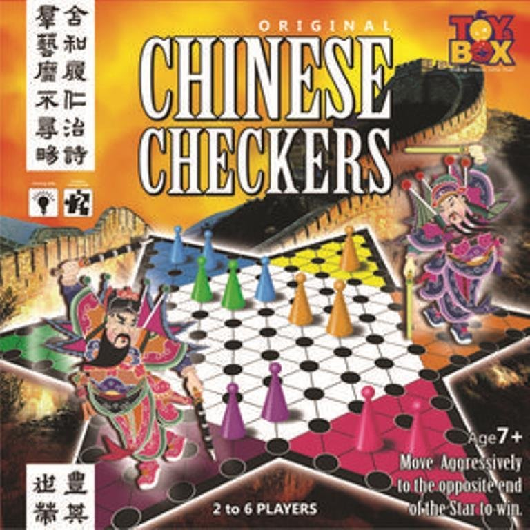 Original Chinese Checkers Game  2-6 Players Age 7+ Toys Box  Indoor