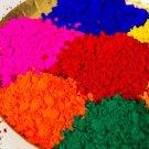 Holi  10 Assorted Colours (100 gm each) + Gulal (500gm)  Happy Holi