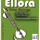 ULTRA QUALITY INDIAN SITAR STRING COMPLETE SET GERMAN ROSLAU STEEL & BRONZE. FAST DELIVERY