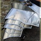 22 GAUGE ENGLISH STEEL MEDIEVAL WARRIOR KNIGHT  PAULDRONS SHOULDER ARMOUR