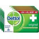 Dettol Original Soap 125gm x 4 (Pack of 4) ANTI CORONAVIRUS COVID-19