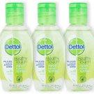 Dettol Instant Hand Sanitizer Spring Fresh - 50ml x 3 (Pack of 3) ANTI CORONAVIRUS COVID-19