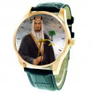 FANTASTIC KING FAISAL LION OF  ARAB WORLD COLLECTIBLE MUSEUM-GRADE WRIST WATCH