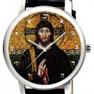 JESUS CHRIST RARE COPTIC CHRISTIANITY COLLECTIBLE CRUCIFIXION ART WRIST WATCH