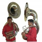 NEW FULL-SIZE 24-INCH BELL FULL-BRASS CONSTRUCTION BBb INTERMEDIATE SOUSAPHONE
