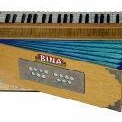 ORIGINAL BINA SANGEET CONCERT TEAK WOOD 3-1/2 octave, 42 key UPRIGHT HARMONIUM